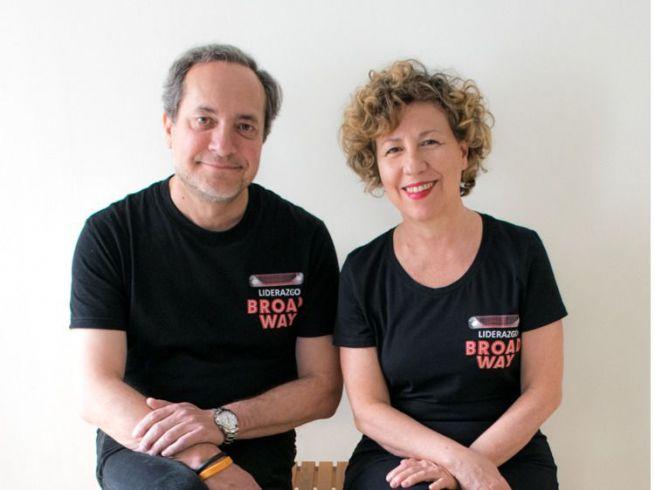 Jose y Coral, fundadores de Liderazgo Broad-way