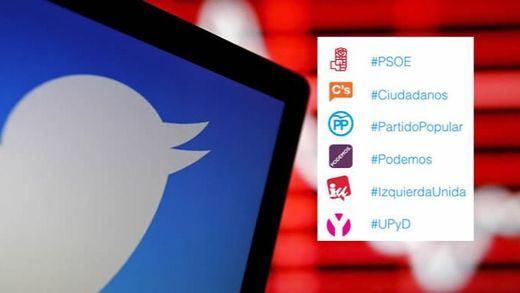 Twitter entra en campaña: estrena 'emojis' con los logos de los partidos políticos