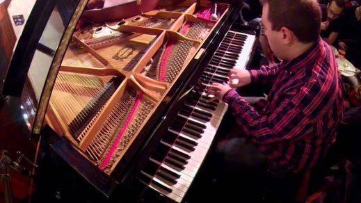 El mejor jazz, la mejor música... con el piano de Moisés P. Sánchez en el Central