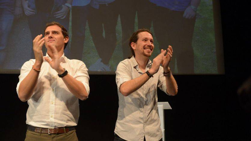 Triple empate de PP, PSOE y Ciudadanos con Podemos cada vez más cerca