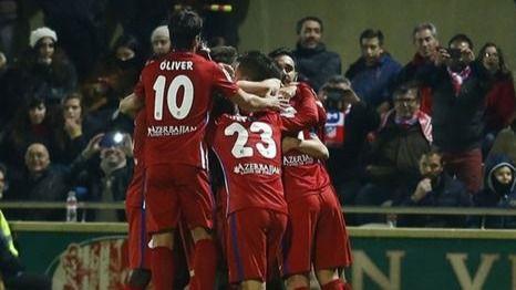 Copa del Rey: el Atlético gana con profesionalidad pero sin brillo a un Reus digno que le plantó cara (1-2)