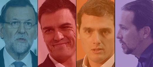 España se paraliza para recibir la 'encuesta del siglo': PP, PSOE, Ciudadanos y Podemos preparan su posición de salida en la campaña