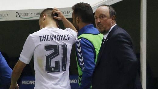 Ésta es la situación del Real Madrid, al borde de la eliminación de Copa por alineación indebida de Cheryshev