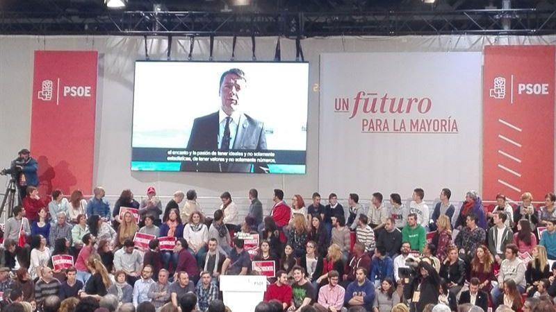 Imagen del acto de inicio de campaña del PSOE en Getafe.