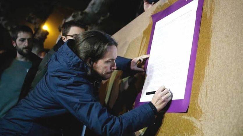 Pablo Iglesias abre campaña intentando levantar la moral de sus tropas: 'Huele a remontada y ahora toca ganar'