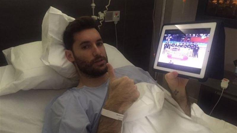 Optimismo de Rudy tras su operación: 'Todo ha salido bien'