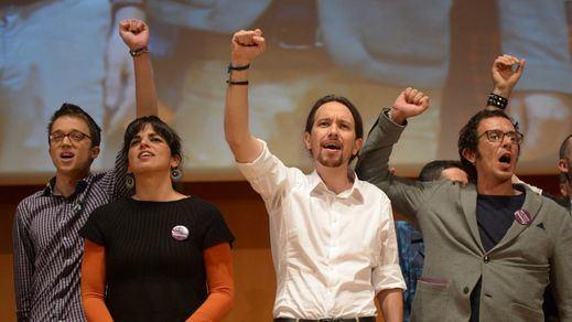 Iglesias lanza un guiño a los indecisos y apuesta por la soberanía tambien en Andalucía