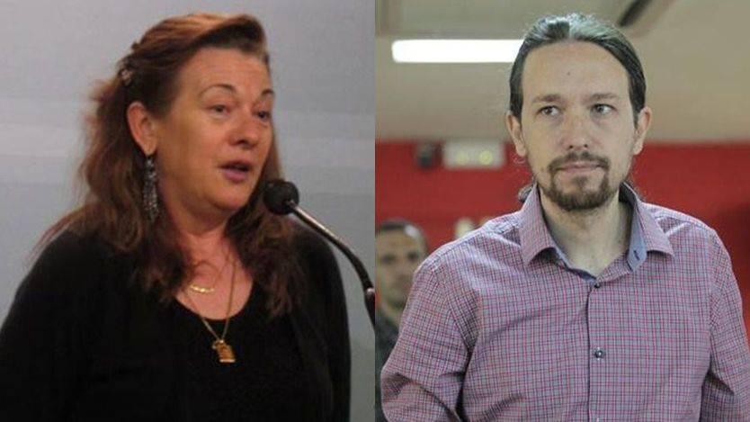 Pilar Manjón niega su colaboración con Podemos y la formación le tiende la mano