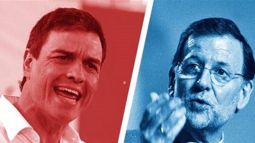 """Hoy, doble ración de 'televoto': Pedro Sánchez en 'Qué tiempo tan feliz"""" y Mariano Rajoy responde a 16 ciudadanos en La Sexta"""