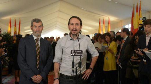 """>> Pablo Iglesias asegura que Rajoy le ha dicho que Podemos va """"muy bien"""""""