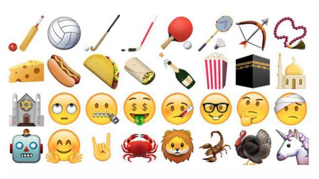 'Gafapasta', pensativo, enfermo, unicornios: as� son los nuevos emoticonos de Whatsapp