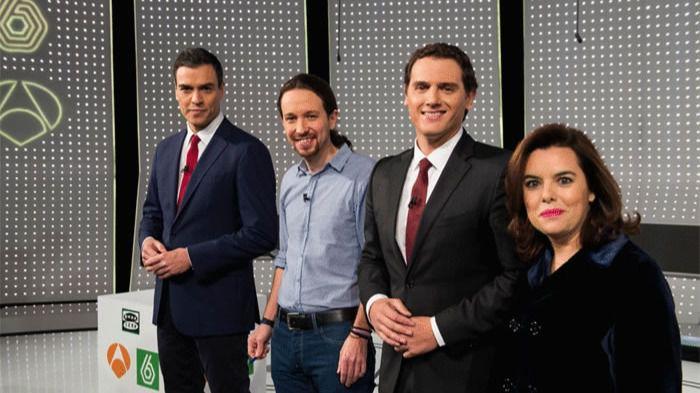 Encuesta: ¿Quién ha sido el mejor en el debate #7D?