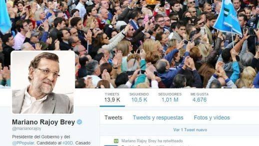 El ausente Rajoy, 'cheerleader' de la vicepresidenta