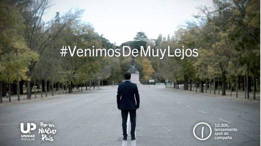 El spot electoral de Unidad Popular-IU, el 'favorito' de las redes sociales
