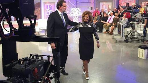 Rajoy acude 'en diferido' a su cita con María Teresa Campos