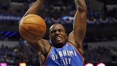 Ibaka, único español triunfador en la última jornada de la NBA