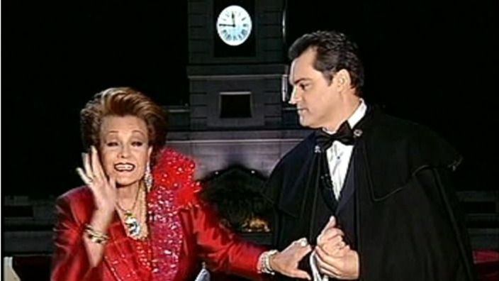 Ramón García y Carmen Sevilla en Nochevieja