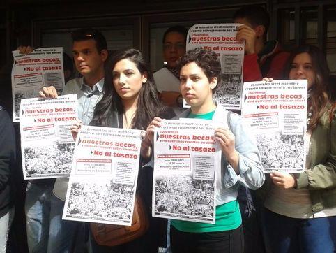 Ana García, presidenta del Sindicato de Estudiantes: