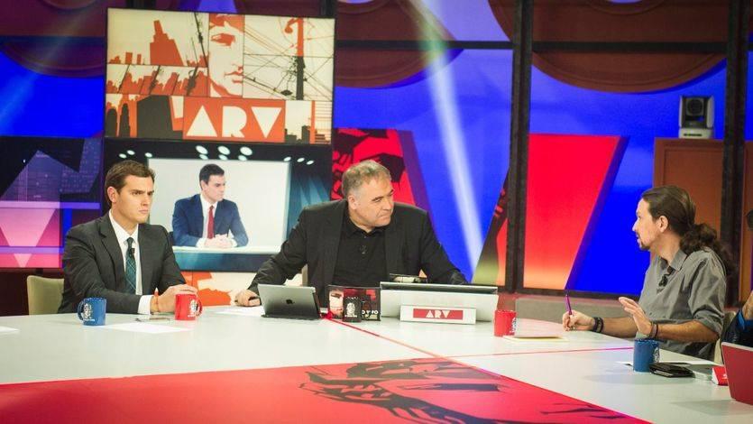 El otro debate: Rivera e Iglesias se unen contra un cara a cara del 'pasado' y de fin de época