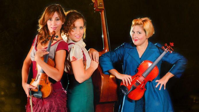 Las 'Funamviolistas' dan la nota con el más original y musical de los espectáculos