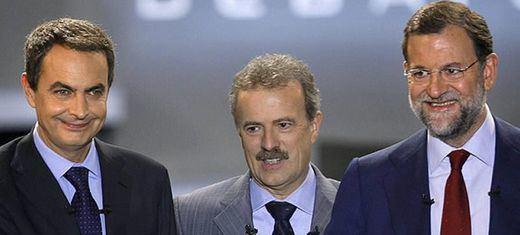Comparaciones odiosas: Sánchez llamó 'indecente' a Rajoy; Rajoy acusó a Zapatero de traicionar a los muertos de ETA