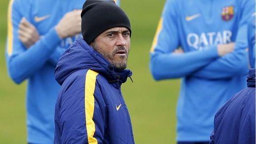 Luis Enrique se pone la venda: