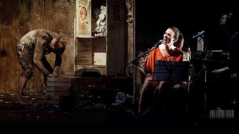 'El cínico', de Chevi Muraday, un bellísimo espectáculo que conjuga danza y música en directo