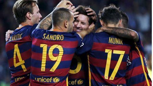 Un triplete de 'matador' Suárez mete al Barça en la final del Mundialito (3-0)