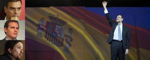 El globo sonda de un gran pacto PP-PSOE le sale mal a Rajoy, que lo desmiente