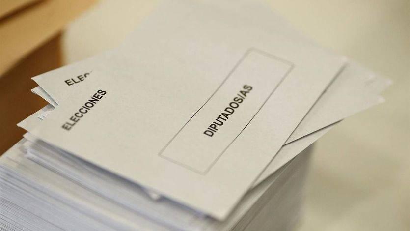 Papeletas voto elecciones