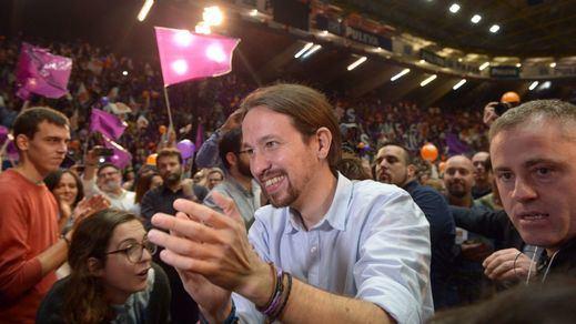 Pablo Iglesias finaliza la campaña eufórico: 'Estamos preparados para liderar una nueva transición'