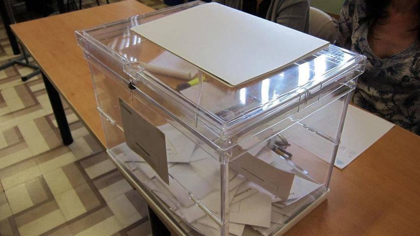 Urnas para la elección de diputados al Congreso