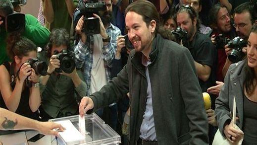 Pablo Iglesias acude satisfecho a votar: