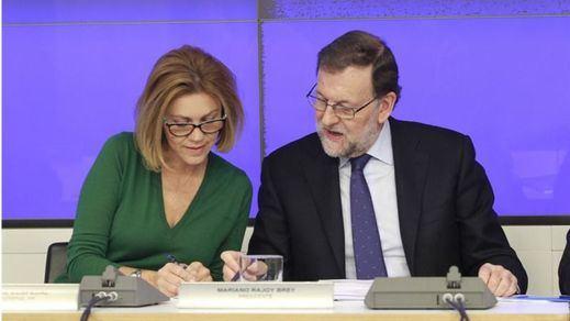 >> Rajoy no coge la indirecta del ex presidente y afirma que se presentará a la reelección como líder del PP