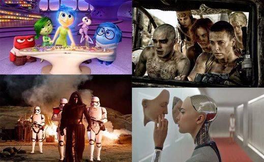 Las 10 mejores películas de 2015