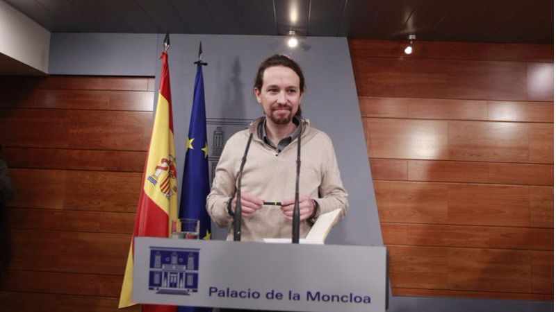 Pablo Iglesias en La Moncloa