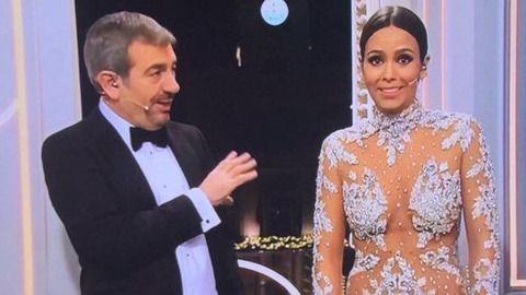 Cristina Pedroche vuelve a reinar en la Nochevieja con su provocativo mini-vestido