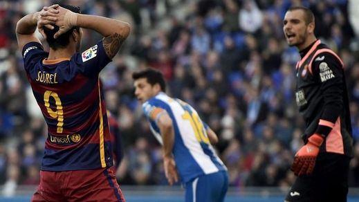 El Barça se atraganta en Cornellá (0-0) y cede dos puntos a sus rivales