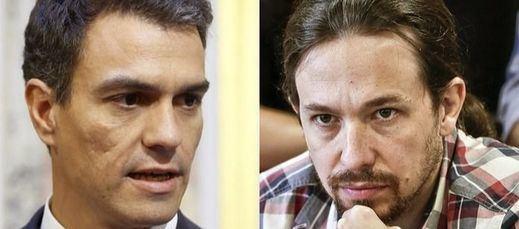 Artur Mas y Pedro Sánchez arrancan 2016 en manos de la CUP y Podemos