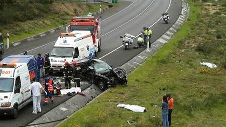 El número de víctimas mortales en accidentes de carretera se estancó en 2015