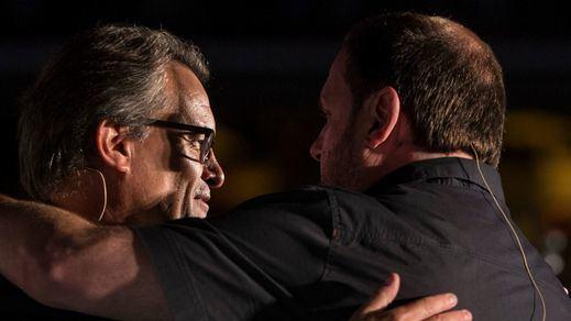 Junqueras no 'puenteará' a Artur Mas como candidato a president porque es