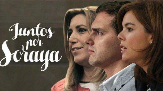 Twitter bromea con el 'gran pacto' PP, PSOE y C's y la ¿futura? presidenta Soraya Sáenz de Santamaría