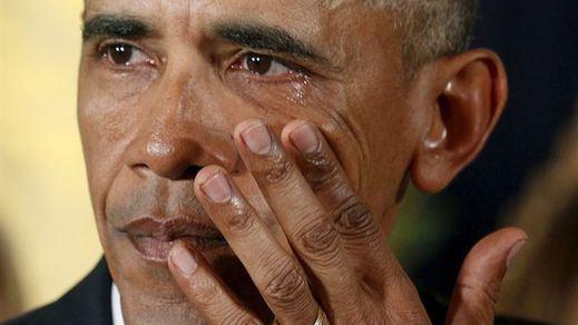 Las lágrimas de Obama dan la vuelta al mundo por el drama de la posesión de armas en EEUU