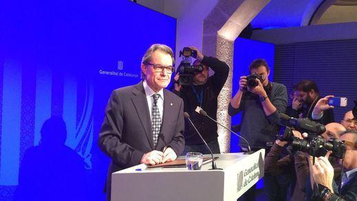 Artur Mas convocará el lunes 11 nuevas elecciones si no acepta investirle