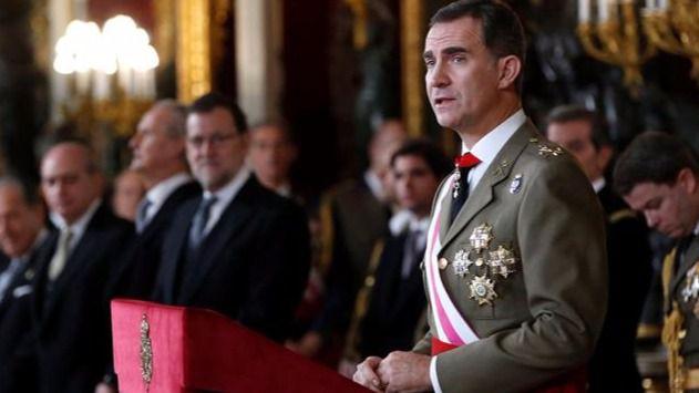 El Rey elude la situación política en un discurso de Pascua Militar centrado en la lucha antiterrorista