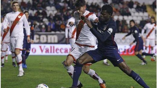 Copa: el Rayo no se deja sorprender por un Atlético vulgar (1-1)