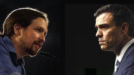 Sánchez busca en Portugal la 'inspiración' para un pacto con Podemos que le lleve a La Moncloa