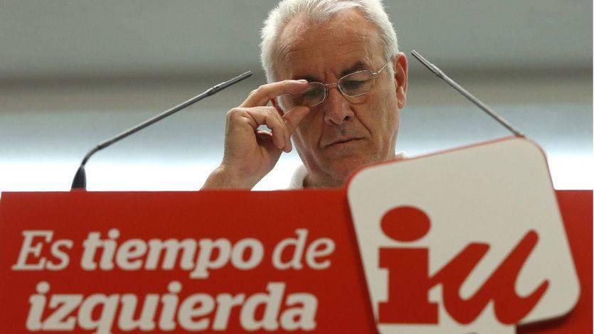 Cayo Lara resta importancia a la hipotética desaparición de las siglas de Izquierda Unida