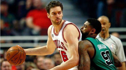 Pau sigue a tope: otra gran actuación para llevar a 'sus' Bulls a derrotar a los Celtics
