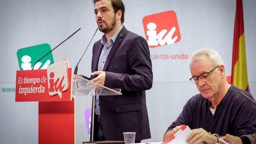 Garzón pide a Iglesias que mire a Galicia y Cataluña y apueste por la